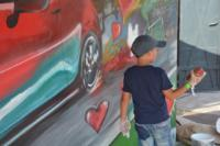 event graffiti mazda