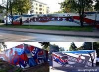 Grodziskie murale - ul.