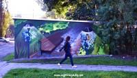 Grodziskie murale - ul. Sadowa 2